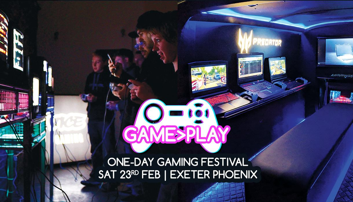 Game on at Exeter's inaugural gaming festival